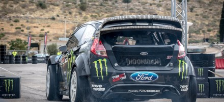 Athens Monster Gymkhana Grid